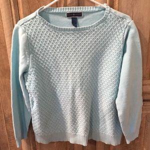 Nice Light Blue Color Women's Size Large Sweater